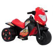 Moto Elétrica Ban Moto Preta 6V