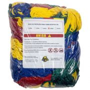 Rede de Proteção Colorida Canguri para Cama Elástica de 3,66/3,70 m
