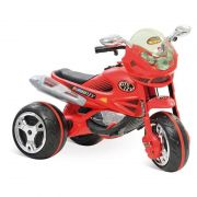 Super Moto Elétrica GT2 Turbo Vermelha 12V