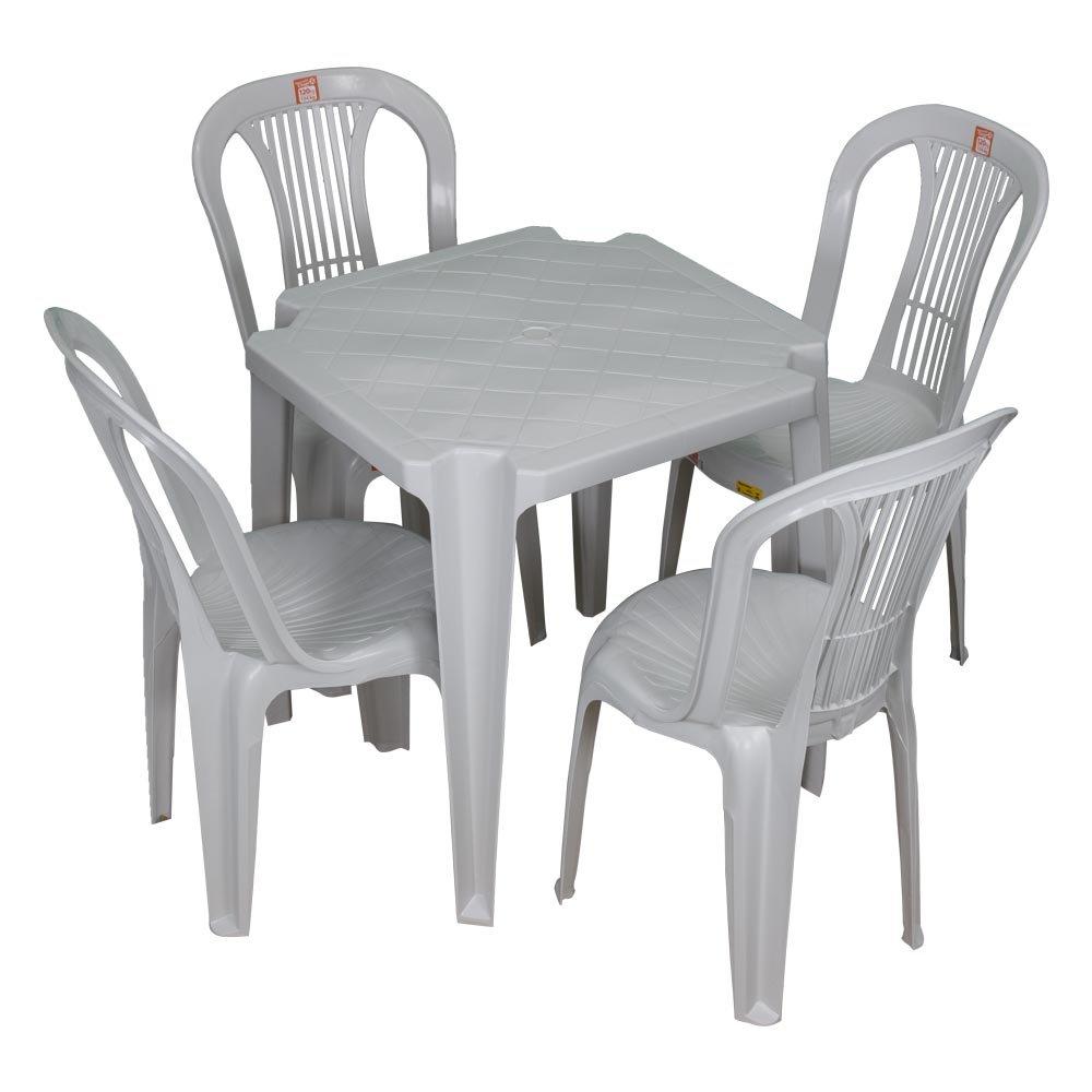Cadeira de Plástico sem Mesa - Unitária