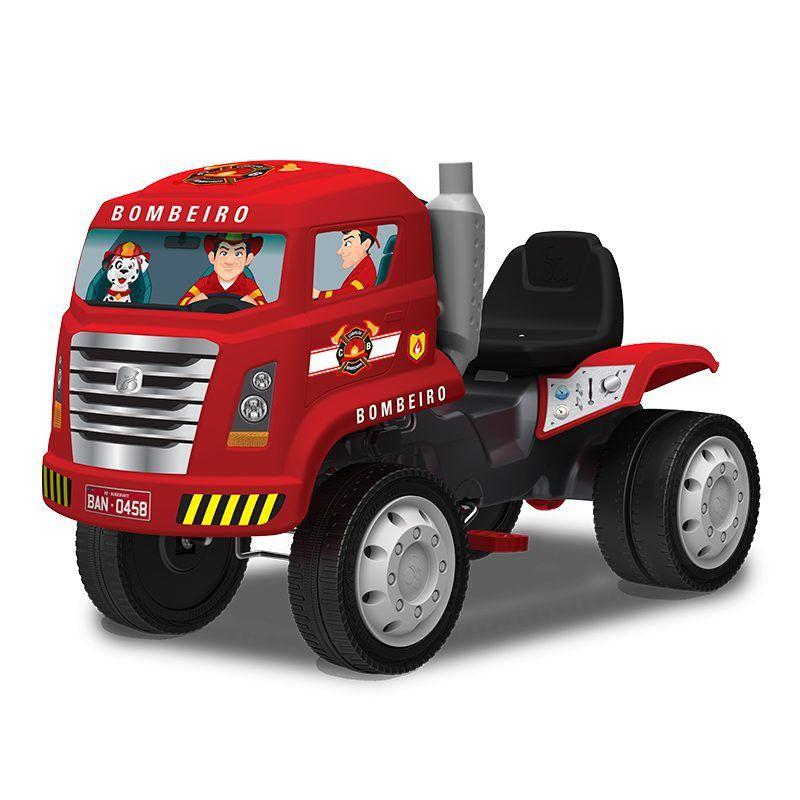 Caminhão Bombeiro com Pedal