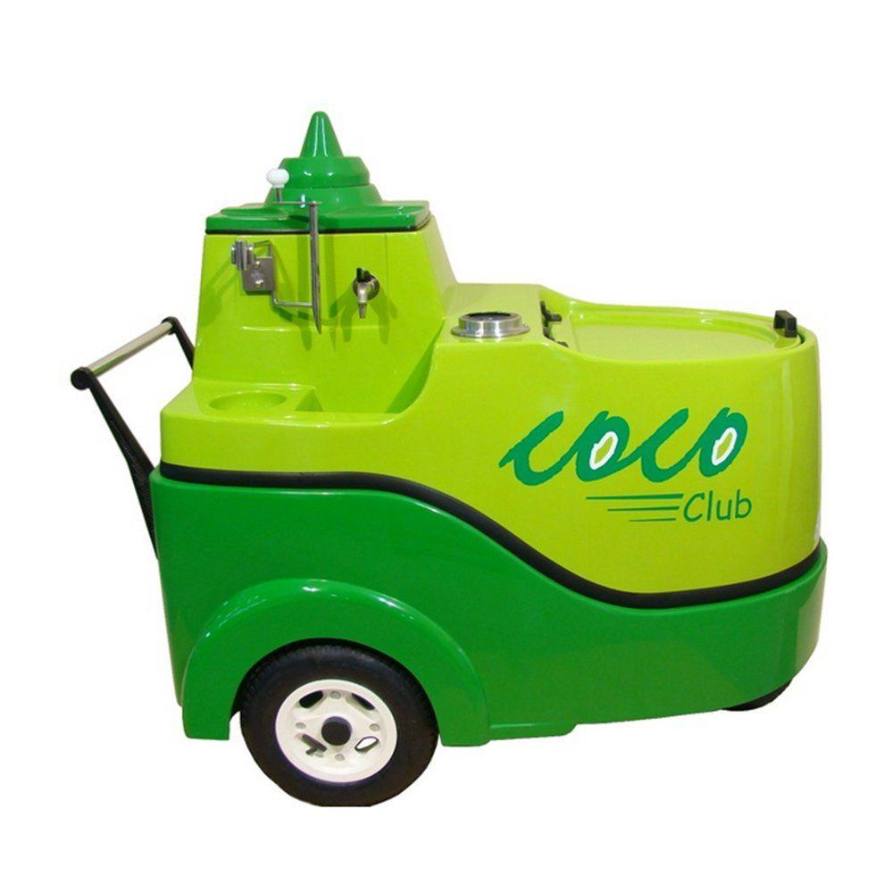 Carrinho de Água de Coco em Fibra