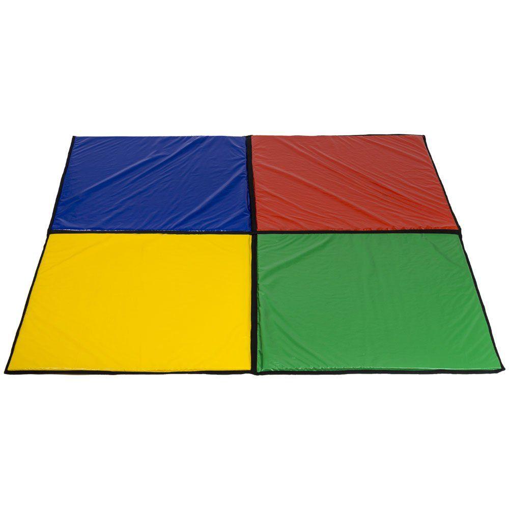 Cercadinho Infantil Extragrande 1,60 x 1,60 m com Colchonete