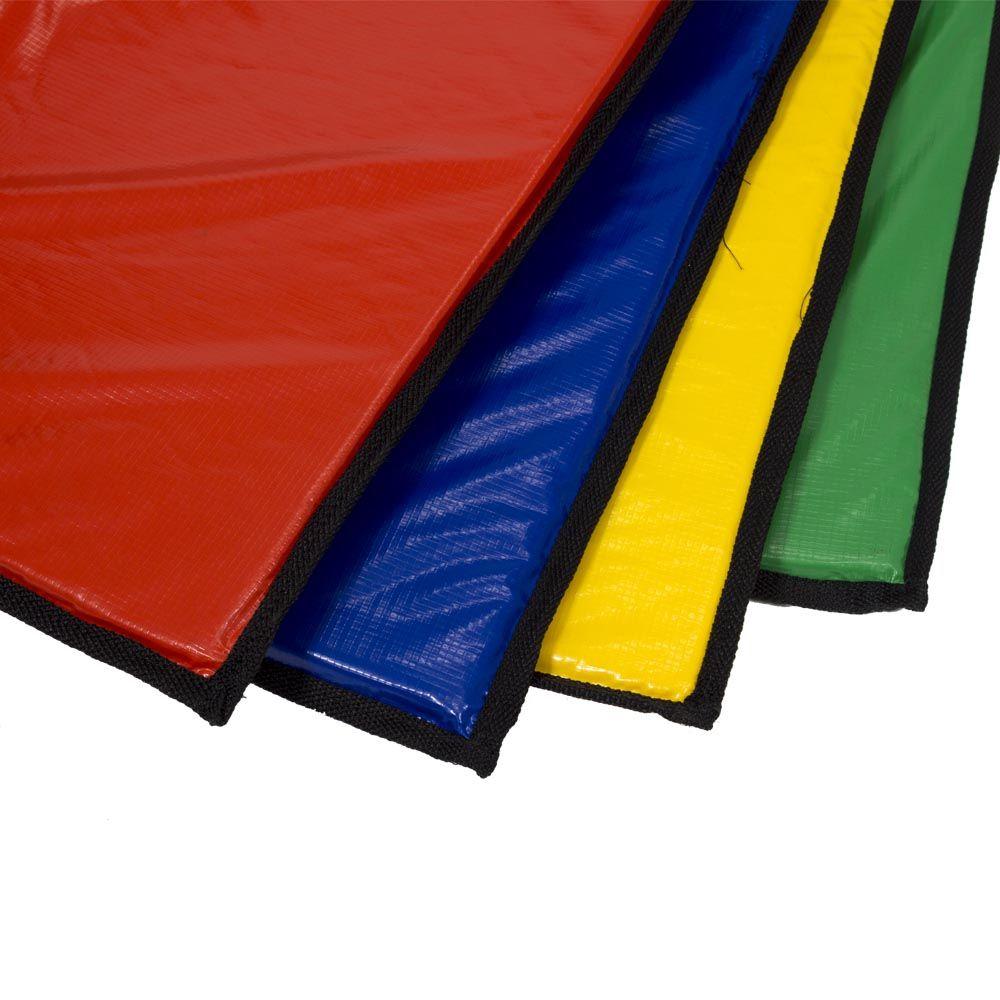 Colchonete Colorido Canguri para Piscina de Bolinhas de 1,1m x 1,1m