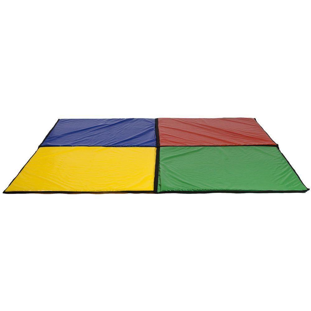 Colchonete Colorido Canguri para Piscina de Bolinhas de 1,5m x 1,5m