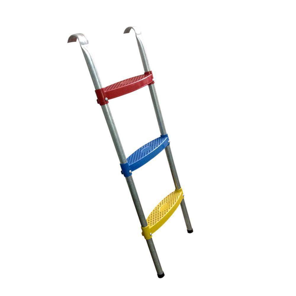 Escada para Cama Elástica e Pula Pula de 3 degraus