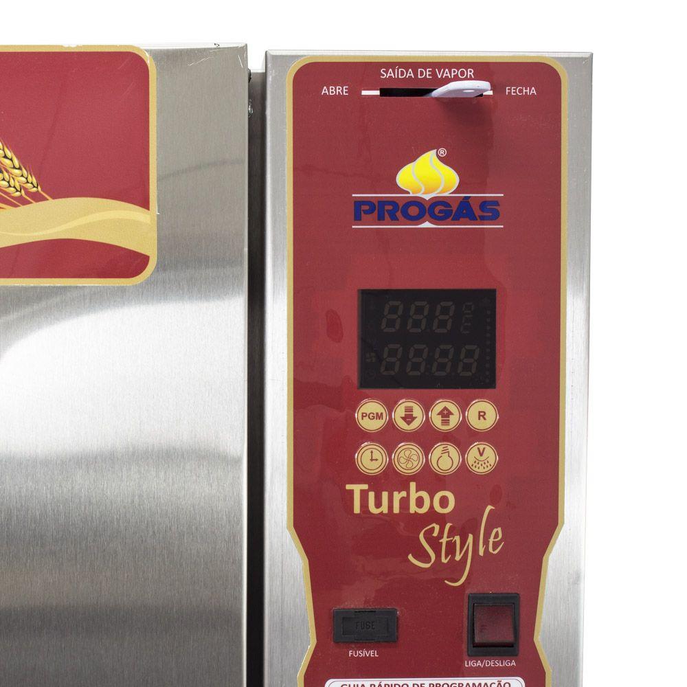 Forno Turbo a Gás para Padaria e Panificadoras Style G2 10 Esteiras