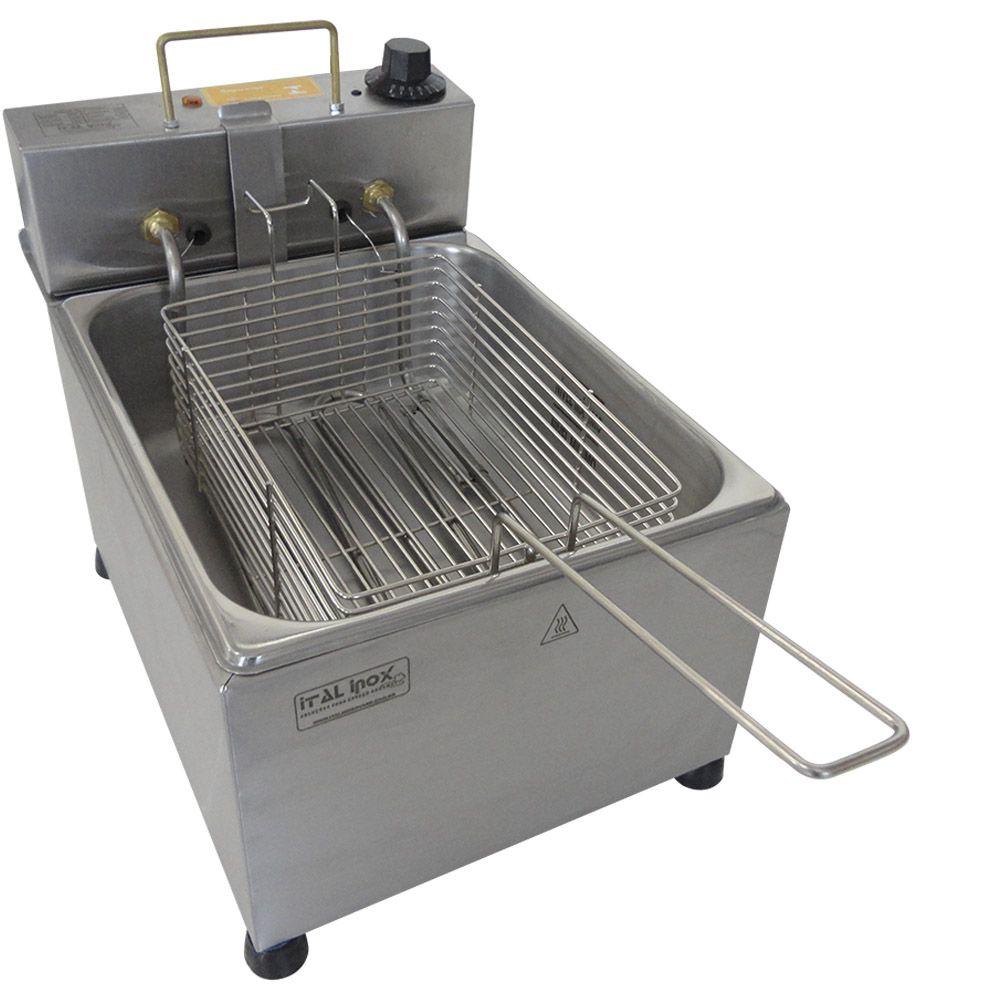 Fritadeira Elétrica de Batata Frita e Salgados 5 Litros