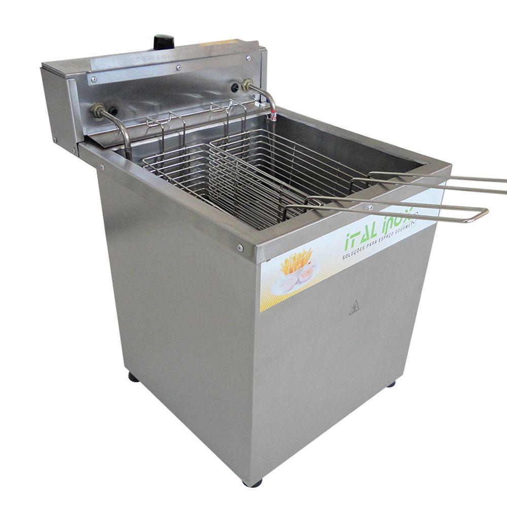 Fritadeira Elétrica de Mesa Água e Óleo para 45 kg