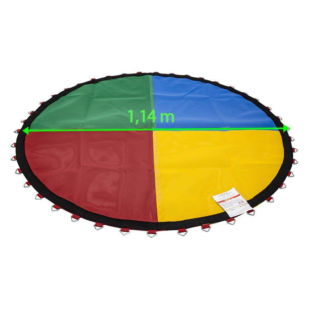 Lona de Salto para Cama Elástica 1,50 m Quadricolor Nacional Canguri