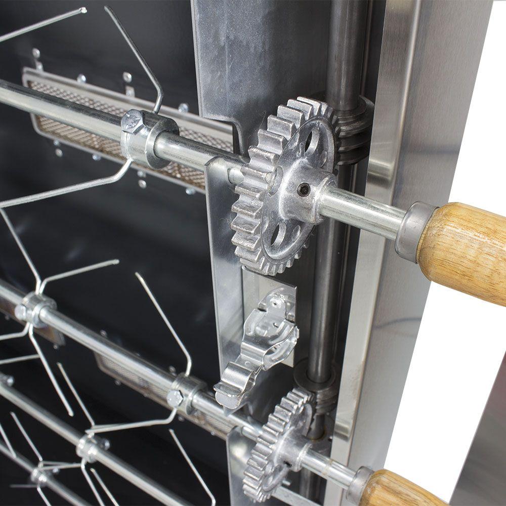 Máquina de Assar Frango com Isolamento Térmico e INMETRO 30 Frangos