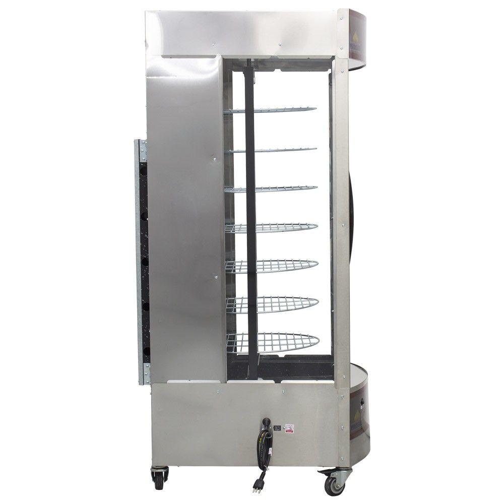 Máquina de Assar Frango e Carne Assador Giratório Progás 38 Frangos