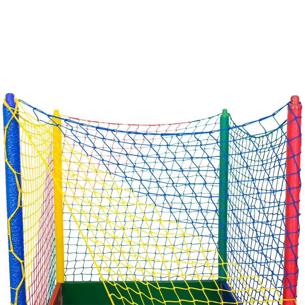 Piscina de Bolinha Colorida 1,1x1,1M  Canguri Frete Grátis