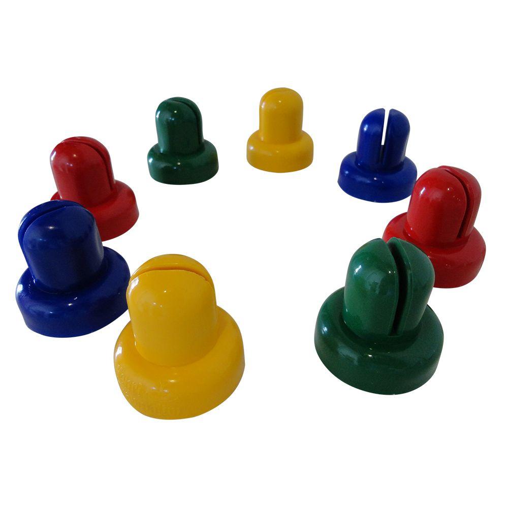 Ponteiras para Haste de Cama Elástica - Kit com 8 unidades