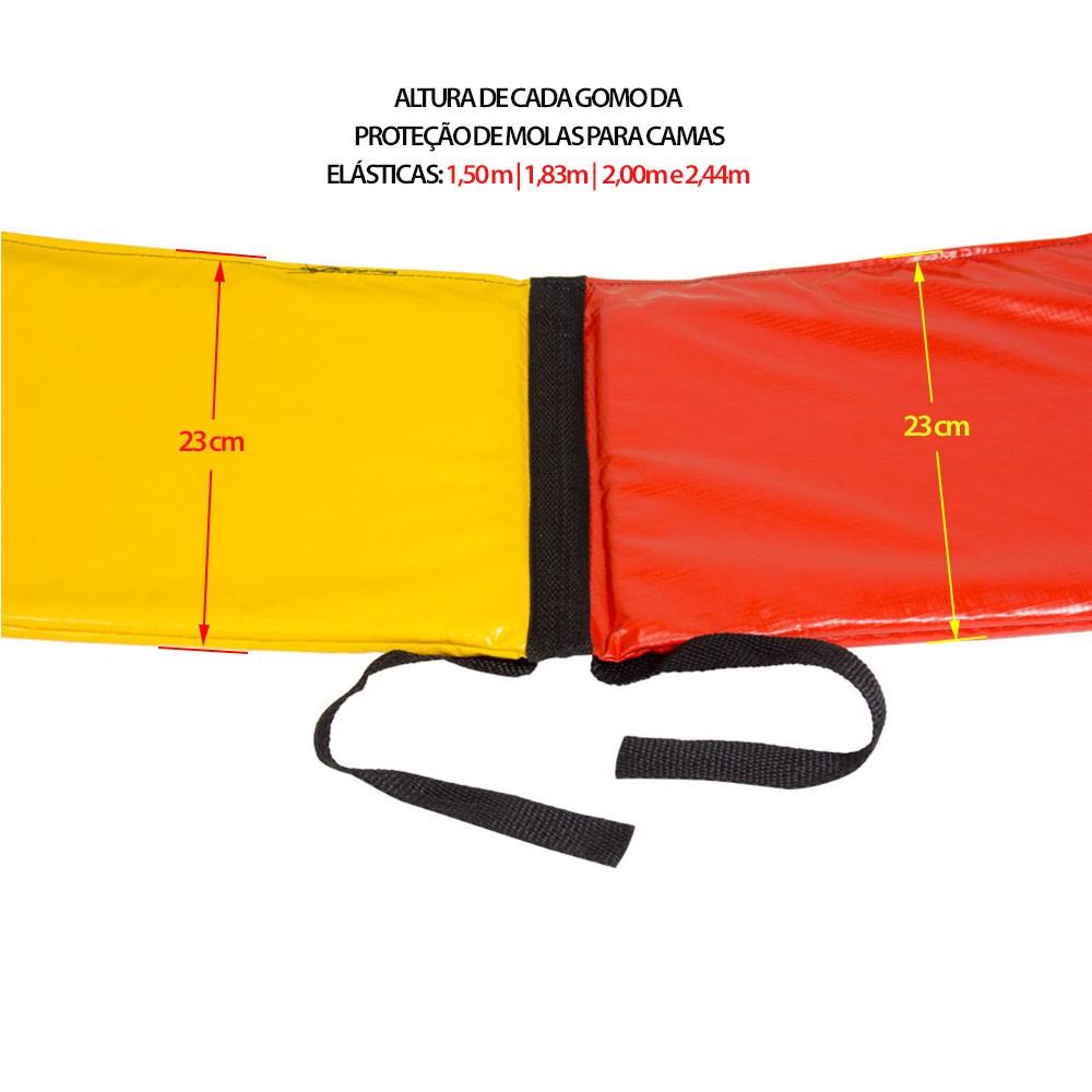 Proteção de Molas Canguri para Cama Elástica 1,50 m