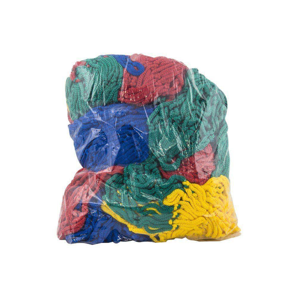 Rede de Proteção Colorida para Piscina de Bolinhas de 1,5m x 1,5m Canguri