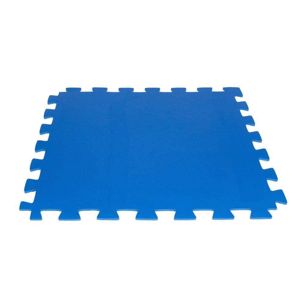 Tatame de EVA Azul 1x1 m - Kit com 4 Unidades