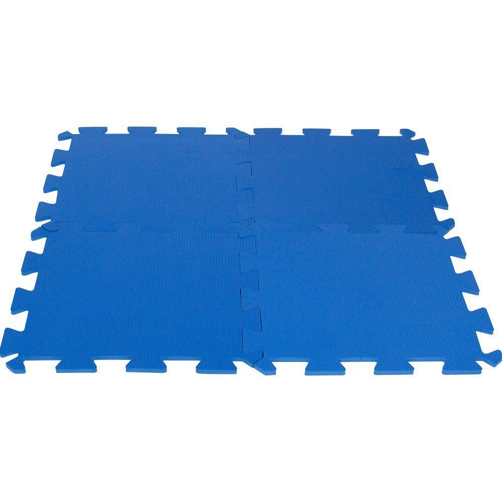 Tatame de EVA Azul 50x50 - Unitário