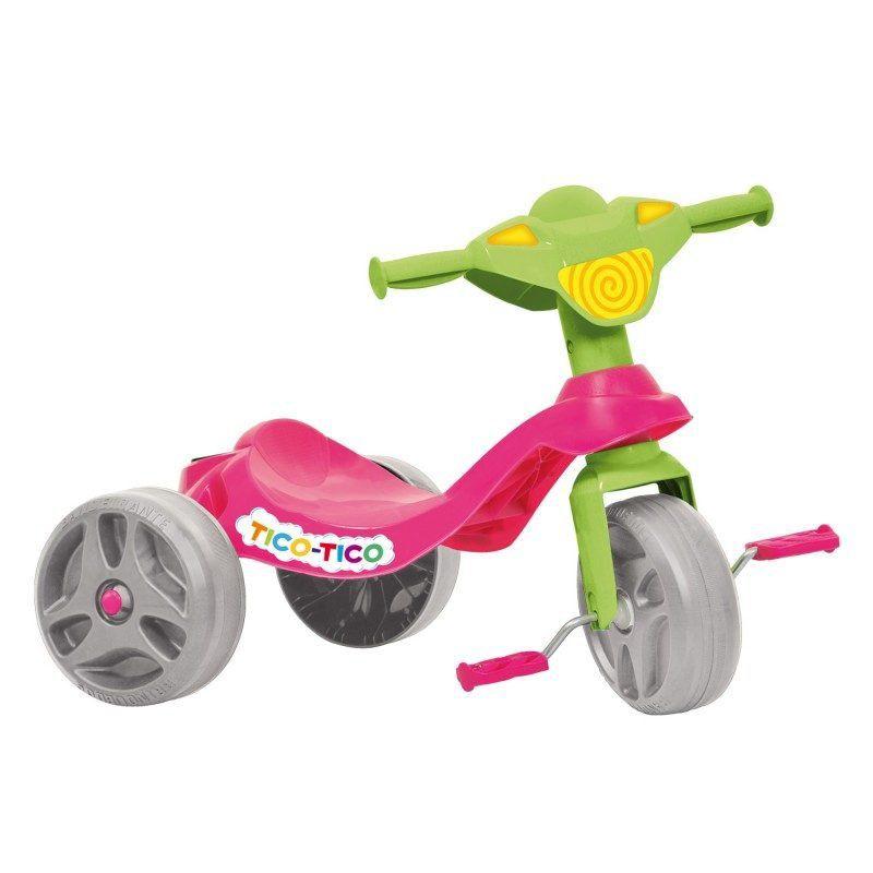 Triciclo Infantil Tico Tico Rosa
