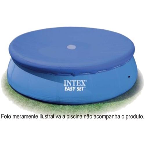 Capa para Piscina Intex 244 cm Diâmetro 8´ Easy Set  - Mor e Nautika MOD 58939