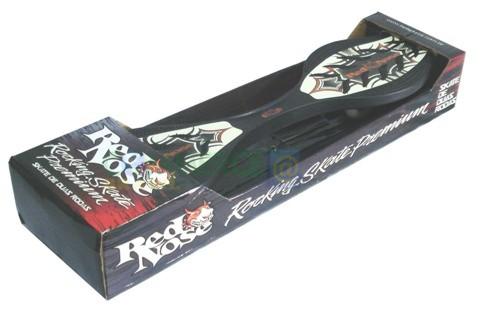 Rocking Skateboard Wave Board Surf nas Ruas 2 Rodas Red Nose Belfix mod 4060