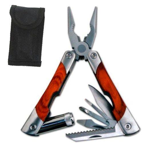 Kit Ferramentas Alicate canivete Multiuso 7 em 1 Aço Inox G286-P / 4054