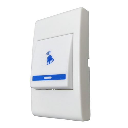 Campainha Sem Fio Wireless 100m 32 Melodias 2 Interruptor Doorbell mod 9610AC2T01