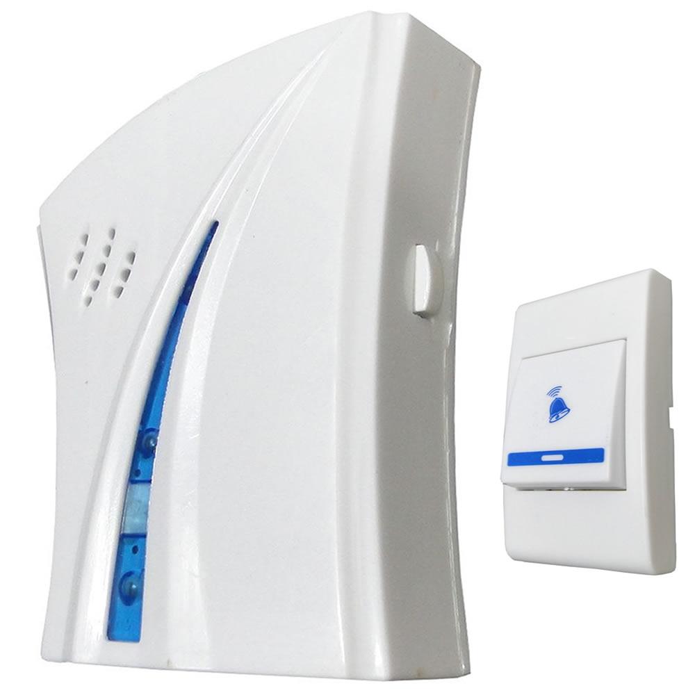 Kit Campainhas Sem Fio Wireless Alcance 80 Metros 16 Toques - modelo: 9610DC-3