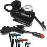 Mini Compressor Ar 12v 250psi para Auto, Moto, Bola, Inflável