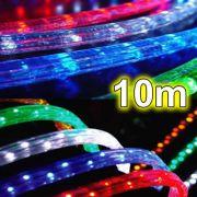 Mangueira Luminosa de Natal de Lâmpada Rolo 10mt Corda Luminosa