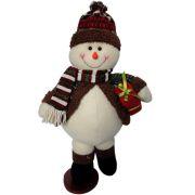 Boneco de Neve Luxo em Pelúcia com 48cm de Altura CBRN0371 CD0075