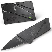 Canivete Cartão Dobrável Lâmina Negra Inox Cardsharp WMTKP-1