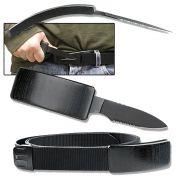 Cinto Nylon com Canivete Belt Knife Tático WMTAT-1
