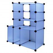Estante multi-uso Organizadora 6 Compartimentos transparente CBR1022