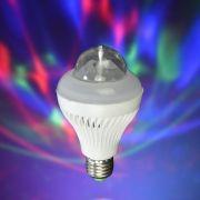 Lampada Giratoria Led Strobo Color RGB 4w Bivolt CBRN05543