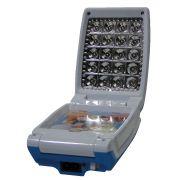 Luminária Abajur Articulado com Foto 20 Leds Recarregável Azul WMTLL80388