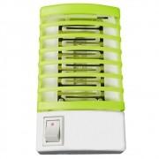 Mata mosquito inseto repelente lâmpada LED UV bivolt verde CBRN04461