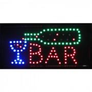 Placa Led Quadro Letreiro Luminoso Decorativo Bar cd 1602