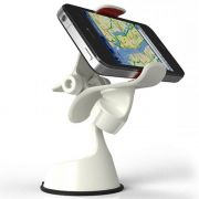 Suporte Universal GPS,Celular,Tablet 7 Auto Branco CBRN0050