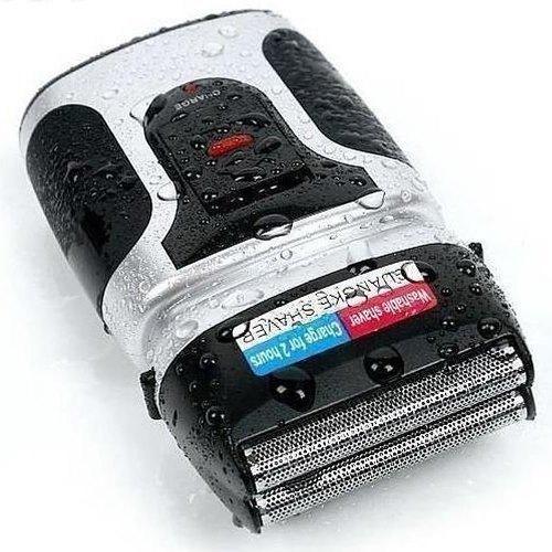 Barbeador Eletrico Recarregavel Lavavel Bivolt RSCW-2088