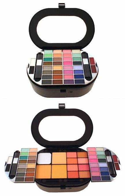 Maquiagem Luisance MB1999 38 Sombras Espelho Interno Case Luxo