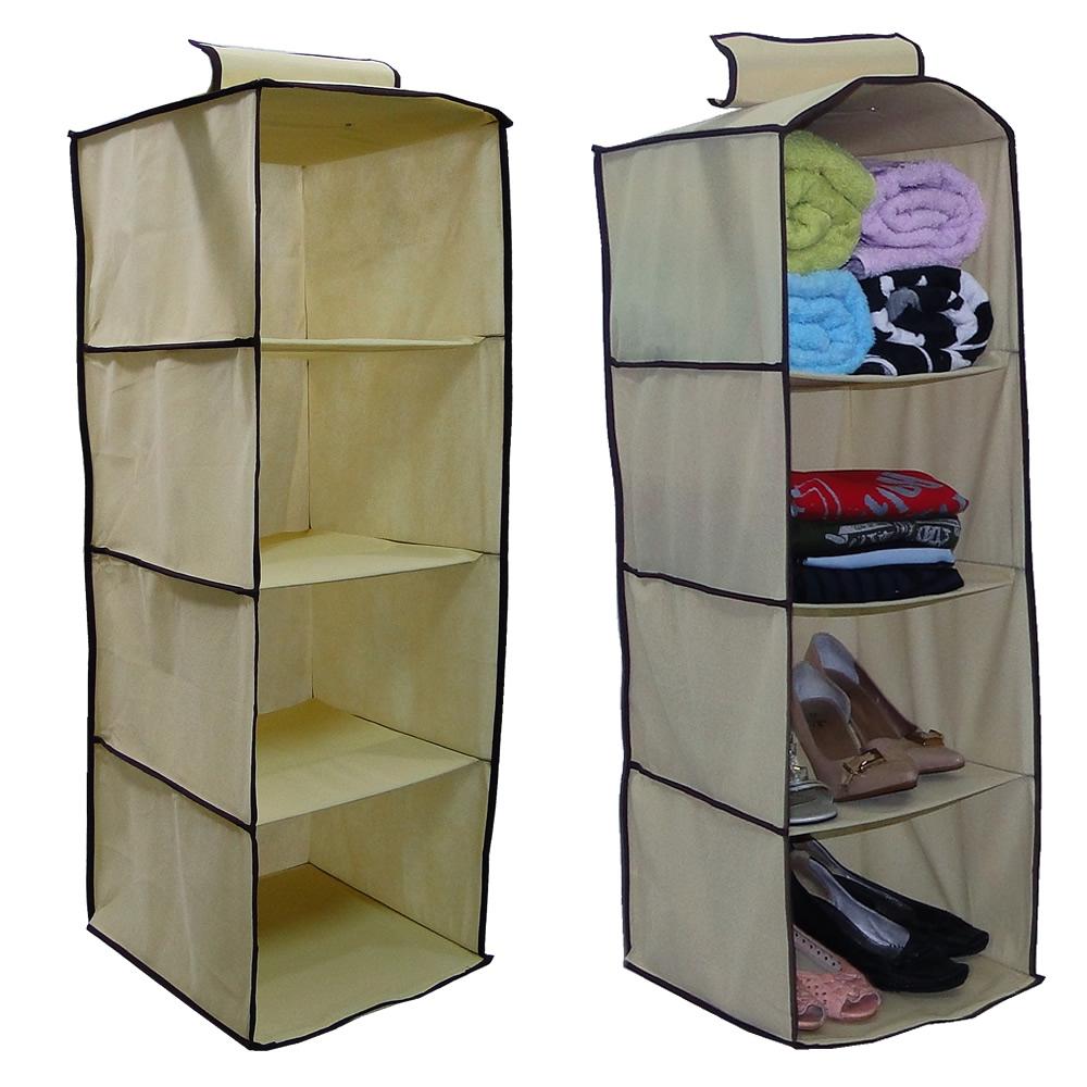 Organizador porta roupa multi uso 5579 ke home 4 - Organizadores de armario ...
