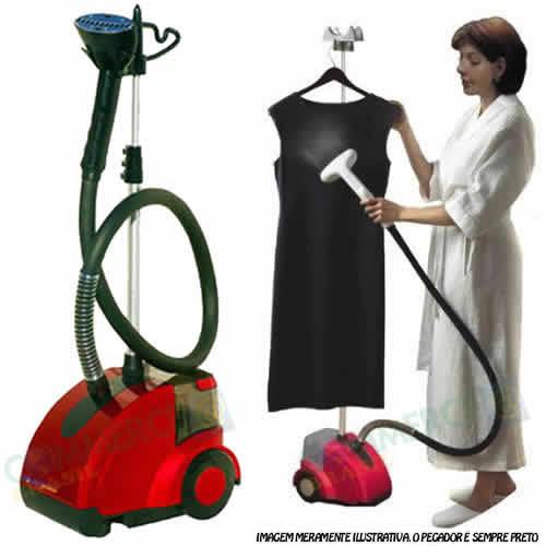 Passador de Roupas Higienizador Limpador a Vapor Steamer WESTPRESS W-12436-N 110v 1450 watts