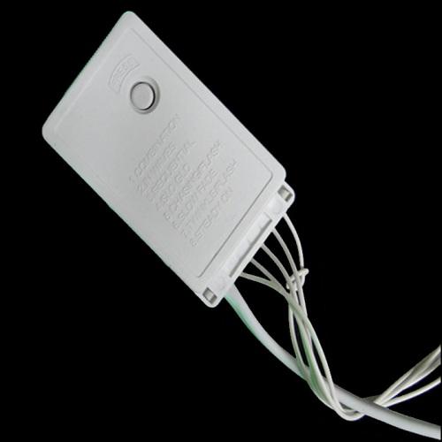 Pisca Pisca 100 LEDs Branco 110v 4 Fases cod 1039