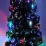 Árvore de Natal 1,20m Fibra Ótica e Led 110v - 220v - 1279