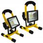 Refletor Portátil 30w Recarregável IP65  CBR03495