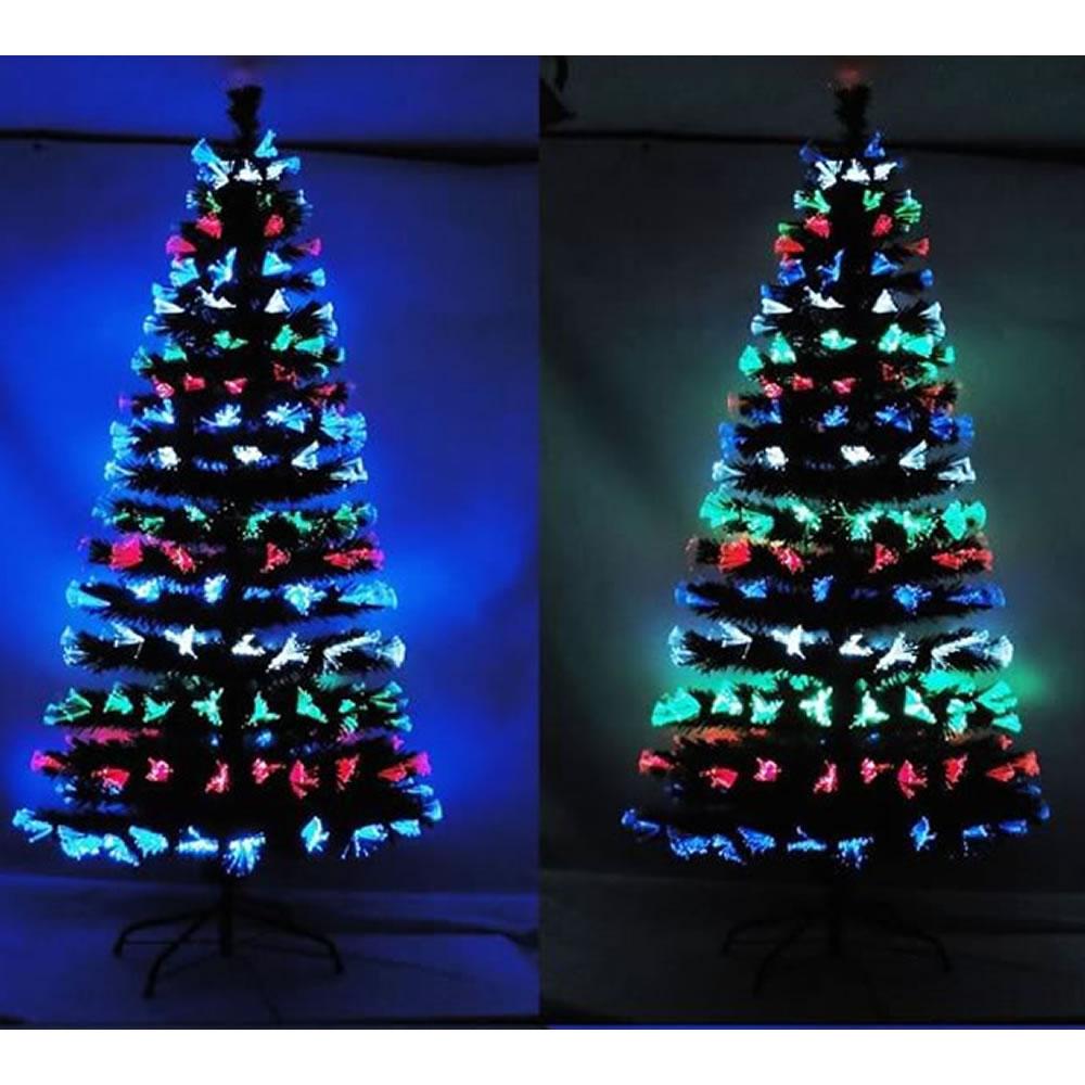 Árvore de Natal 1,50m Fibra Ótica Programável 110v-220v - 1266