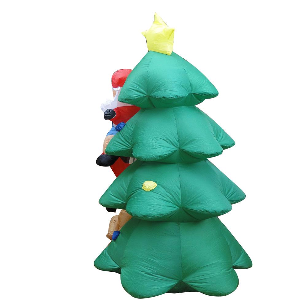 Árvore de Natal Inflável 2,10m Iluminada - 1586