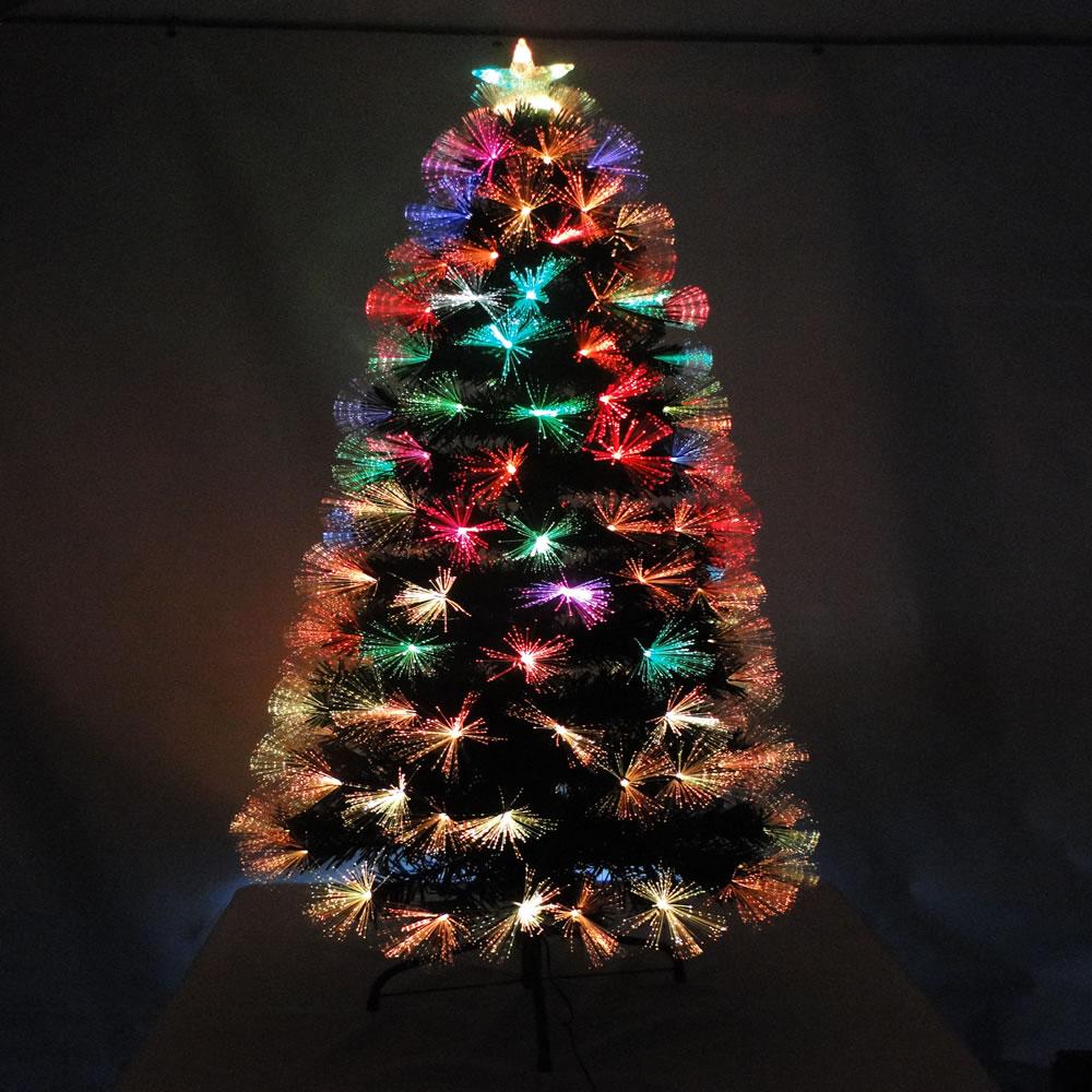 Árvore de Natal Luxo 1,20m Fibra Ótica c/Efeitos 10.900 Pontos bi-volt 1283