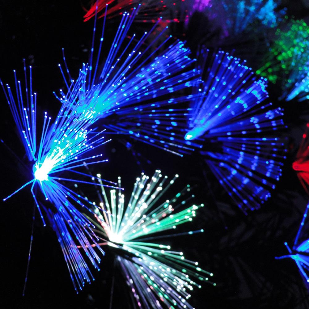 Árvore de Natal Luxo 1,20m Fibra Ótica c/Efeitos 11600 pontos bi-volt 1250
